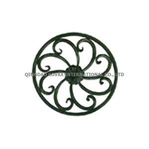 Wrought Iron Flower Panel 11041 Wrought Iron Rosette pictures & photos