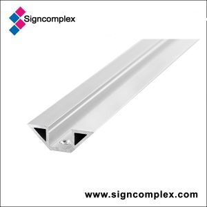 520mm/1020mm/2000mm/3000mm Silver Oxidation 6063 Aluminum Profile with CE RoHS pictures & photos