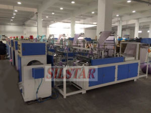 Automatic Double Folds Garbage Bag Making Machine (fold-fold/c-fold) pictures & photos