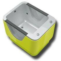 Baby Swimming SPA Pool Massage Bath Tub with Glass Design pictures & photos