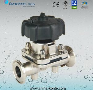 Kt Stainless Steel Sanitary Diaphragm Valve pictures & photos