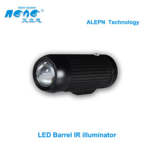 LED Array Barrel Infrared Illuminator. IR Lamp for CCTV Camera (ALN-50R)