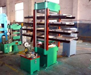 Floor Tile Making Machine Rubber Tiles Press Machine pictures & photos