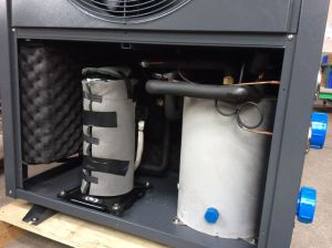 Super Style Water Heater Air Source Heat Pump pictures & photos