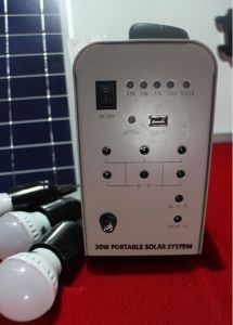 20W Portable Solar Energy Power Lighting System for Outdoor Home pictures & photos