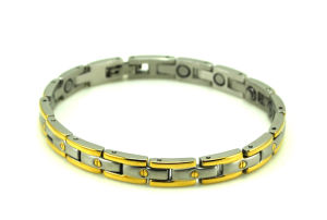 Stock Stainless Steel Magnetic Bracelet (CP-JS-BL-137) pictures & photos
