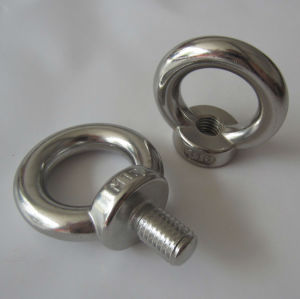 Stainless Steel Eye Screw, DIN580 Eye Bolt and DIN582 Eye Nut pictures & photos