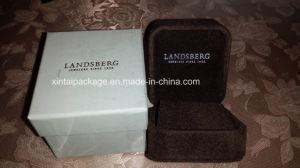 Luxury Velvet Round Corner Jewelry Box