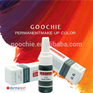 Goochie Natural Permanent Makeup Pigment pictures & photos