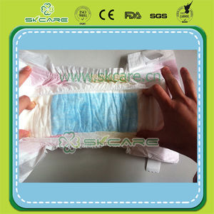 Velcro Magic Tape Normal Thick Baby Diaper with Manufacturer Price pictures & photos