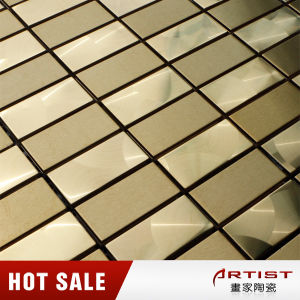 High Class Gold Color Stainless Steel Mosaic pictures & photos