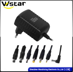 Newest 12V 1A Power Adaptor with EU Plug pictures & photos