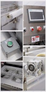 New High Speed Vertical Type Pneumatic Tray Sealing Machine (FBP-450A) pictures & photos