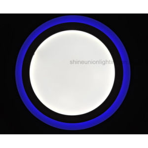 (3 steps) (18+6) W Two Color Round LED Panel Light for Surface pictures & photos