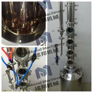 """Modular 4"""" Stainless Steel/Copper Alcohol Flute Distillation Column Price pictures & photos"""