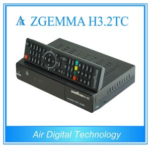 New HDTV Receiver Zgemma H3.2tc with DVB-S2 + 2*DVB-T2/C Dual Hybrid Tuners Combo Satellite Receiver pictures & photos
