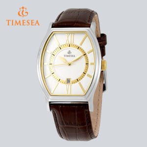 Men′s Strap Watch Square Watch with Silver/White Dial 72551 pictures & photos