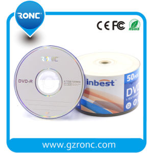 Grade a Plus High Quality Blank DVD-R 16X 4.7GB 120mins pictures & photos