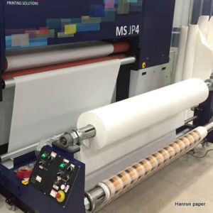 126′′/3.2m Sublimation Heat Transfer Paper Roll for Reggaini Ms-Jp4 6 7 Printer pictures & photos