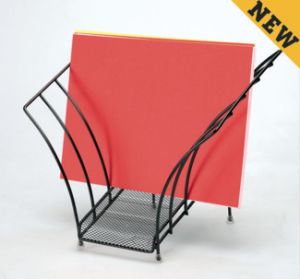 Executive Office Desk Accessories/ Metal Mesh Stationery File Rack/ Office Desk Accessories pictures & photos
