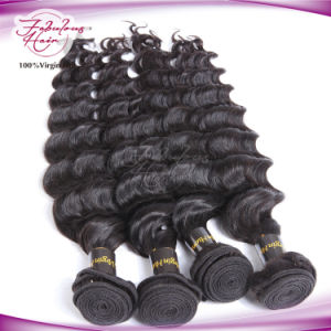 Wholesale Human Raw Hair Extension 100% Unprocessed Brazilian Virgin Hair pictures & photos