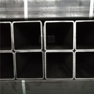 Made in China ASTM A500 Gr. B S235jr Black Steel Square Pipe pictures & photos