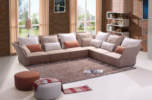 Modern Fabric Corner Sofa for Home Living Room Furniture (HC572) pictures & photos
