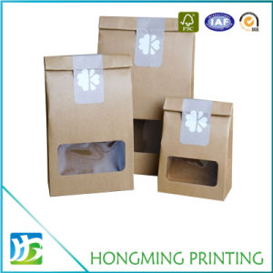 Wholesale Cheap Kraft Paper Packaging for Food pictures & photos