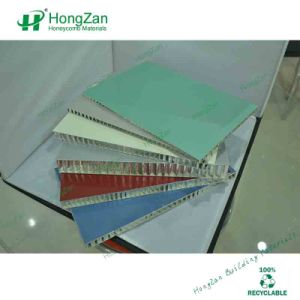 Perforated Aluminum Honeycomb Sandwich Panel with Non-Woven Fabrics Layer pictures & photos