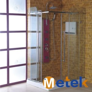 China Supplier Square Bathroom Glass Hardware Pulleys Shower Doors Accessories pictures & photos