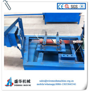 Semi-Automatic Chain Link Fence Machine (wire diameter: 1-4mm) pictures & photos