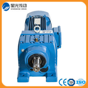 R Series Solid Shaft Helical Gear Speed Reducer pictures & photos