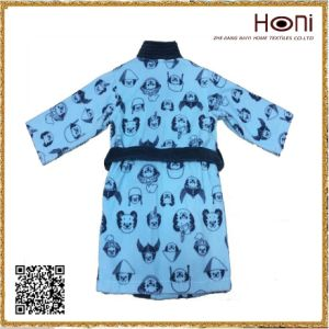 Printed Bulk High Quality Kids Bathrobe pictures & photos