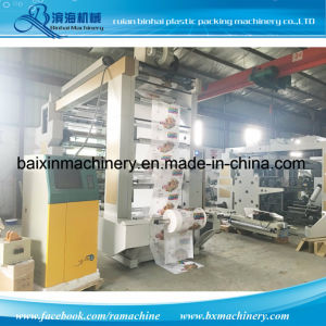 Medium Web Flexo Printing Machine for Paper Cup, Paper Bag pictures & photos