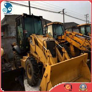 40hq_Shipped Used 82.6HP_Diesel_Engine Jcb 3cx Backhoe for Sale pictures & photos