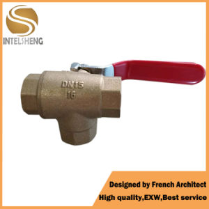 3 Piece Brass Ball Valve pictures & photos