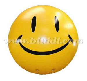 Smile Face Large PVC Helium Balloon for Promotion K7052 pictures & photos