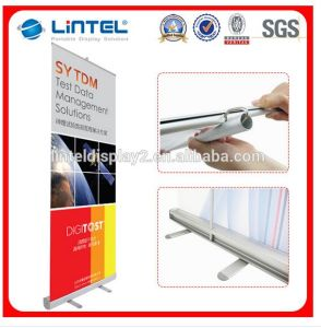 Fabric Tension Roll up Banner Display pictures & photos