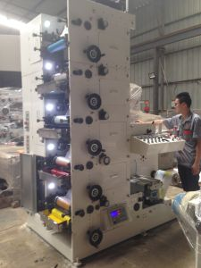 Flexo Printing Machine Label Film pictures & photos