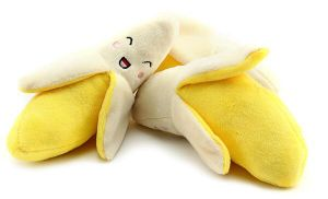 Banana Pattern Plush &Stuffed Squeaky Pet Toy for Dog pictures & photos