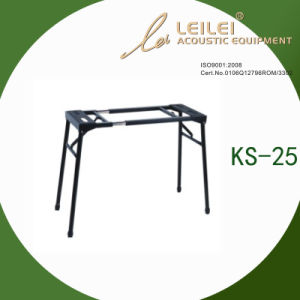 Heavy-Duty Double X Keyboard Stand (KS-25) pictures & photos