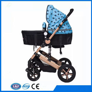 Aluminum 3 in 1 Baby Carriage Baby Pram Baby Stroller pictures & photos