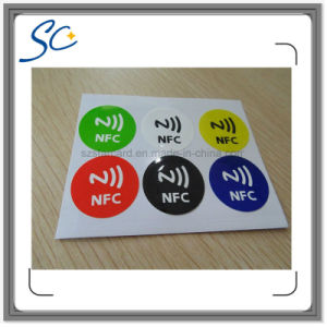 13.56MHz Label Printing Programmable RFID NFC Sticker/Tag pictures & photos