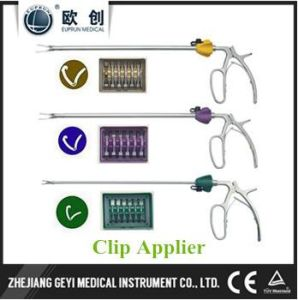 Euprun Laparoscopic Surgery XL Polymer Clip Applier pictures & photos