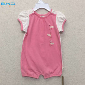 Gots Certificate Baby Clothes OEM Baby Sleeping Romper pictures & photos