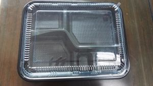 Health disposable plastic food box take away food container with lid pictures & photos