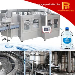 Convenience Package 3-10L Bottle Water Washing Filling Capping Linear Line pictures & photos