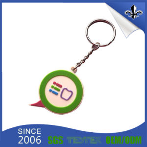 Promotional Products Customized Decoration Keychain Keyholder with Key Ring (HN-KH-001) pictures & photos