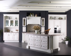 Aegean Sea Kitchen Accessories Solid Wood Kitchen Cabinets pictures & photos