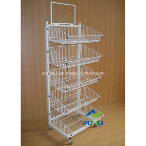 5 Layer Heavy Duty Floor Metal Shelf Rack (PHY532) pictures & photos